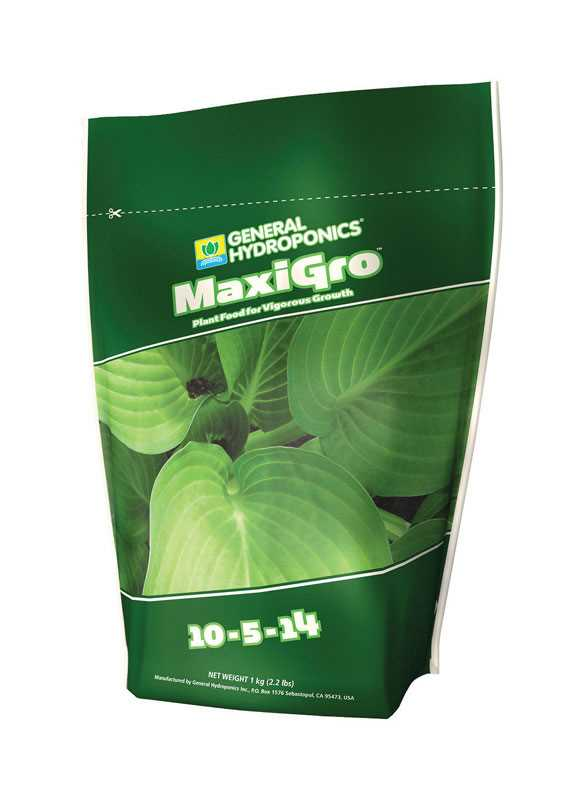 MaxiGro Nutrients by General Hydroponics