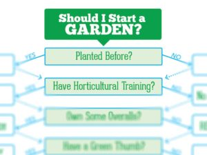 Should I Start Gardening, decision tree