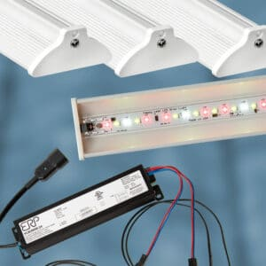 led grow lights with power supplies